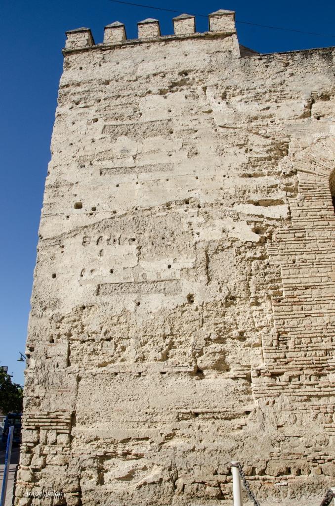 Alcázar de Jerez. Muralla